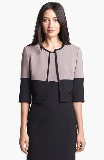 BOSS HUGO BOSS 'Jimona' Crop Jacket available at #Nordstrom
