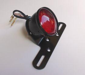 FEU ARRIERE CLASSIC 1  A LED AVEC SUPPORT DE PLAQUE