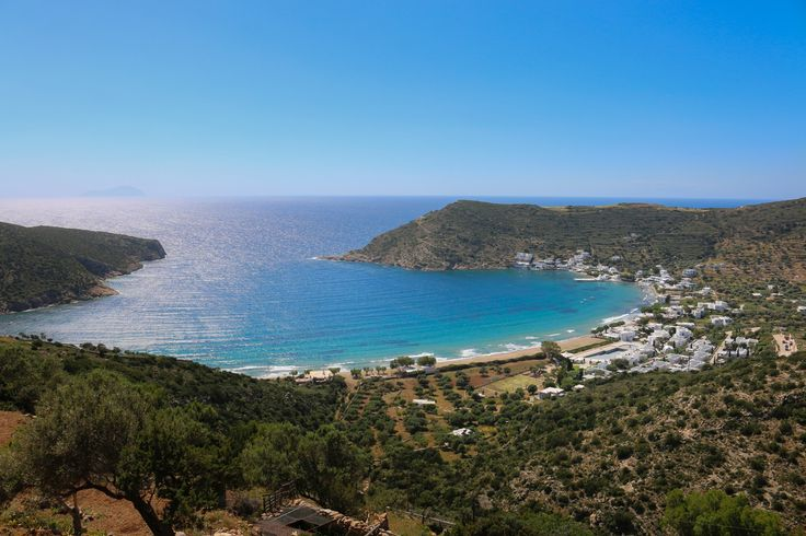 The Cyclades Of Yesteryear - Overlooking Vathi, Sifnos, Greece, a relaxing small town where the unhurried pace of life is like medicine to the soul.