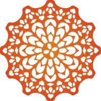 Canadian kaleidoscope doily - Cheery Lynn