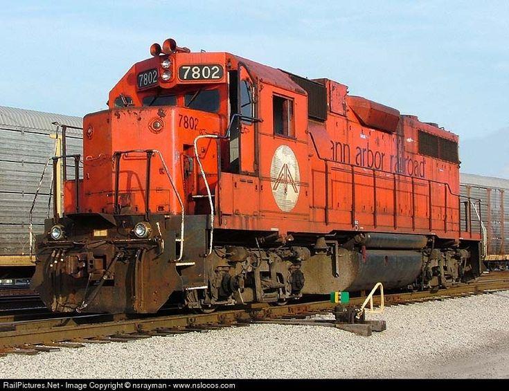 Photo AA 7802 Ann Arbor Railroad EMD