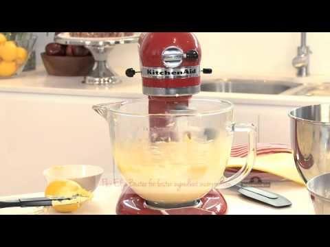 KitchenAid Artisan Stand Mixer - Flat Beatermaking the perfect cupcake