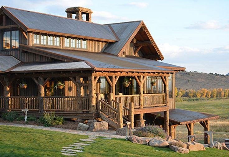 17 best images about western architecture on pinterest for Western ranch style homes