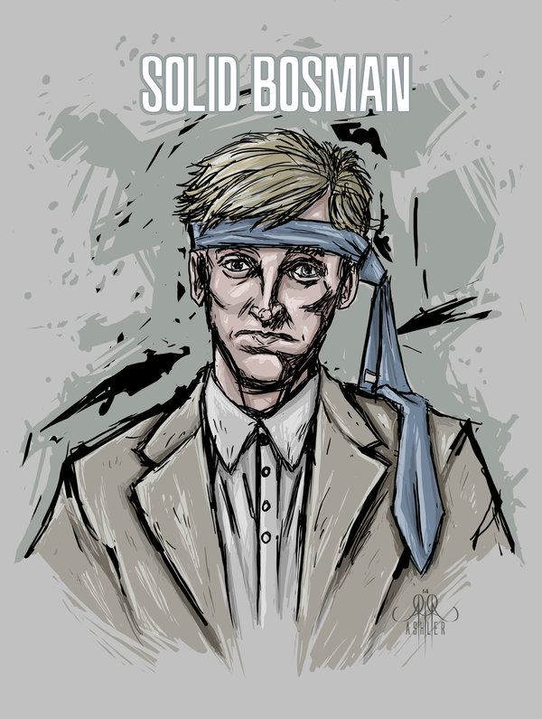 Kyle Bosman from www.gametrailers.com  as Solid Bosman byASHLER  http://xashlerx.deviantart.com/art/Solid-Bosman-438529023