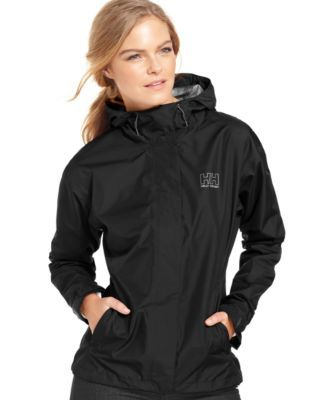 Helly Hansen Seven J Hooded Rain Jacket | macys.com