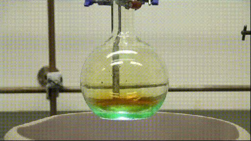 16 Striking GIFs Of Chemical & Physical Reactions