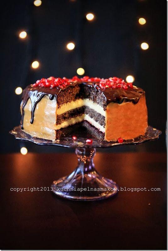 tort makowy z jabłkami (4)
