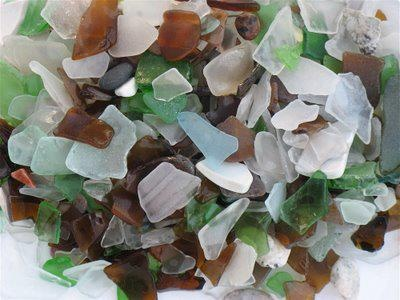 Sea Glass from Nantasket Beach