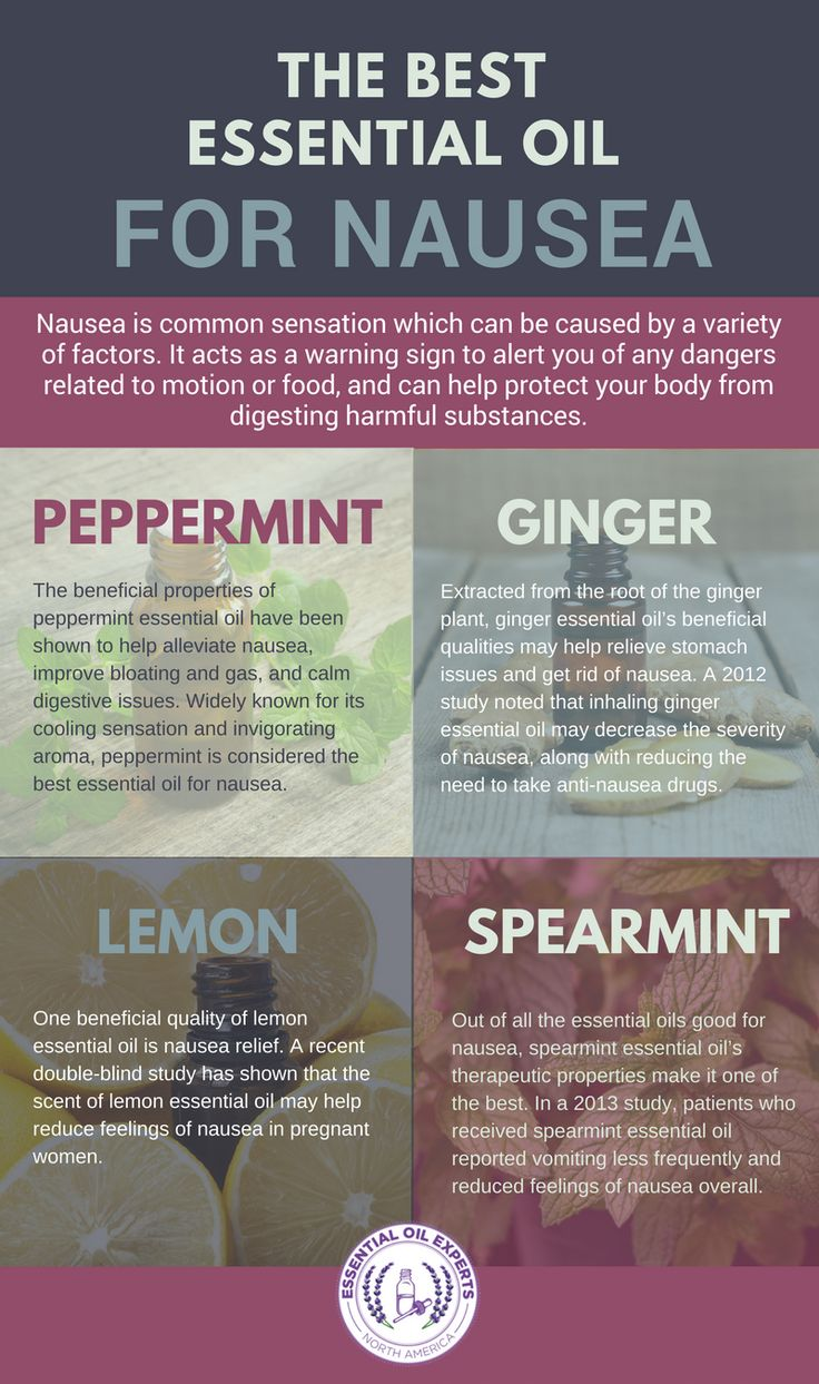 The Best Essential Oils to Get Rid of Nausea http://www.wartalooza.com