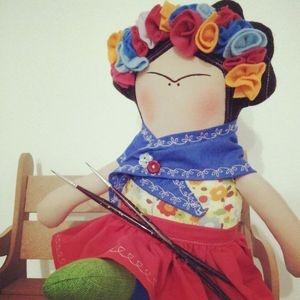 Frida Kahlo doll Regalo para Aidé :3