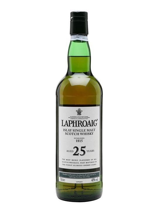 Laphroaig 25 Year Old Scotch Whisky : The Whisky Exchange
