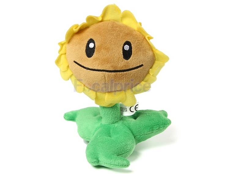 Plants vs. Zombies Sunflower Plush Toy (Yellow)  $3.98 + free shipping --->> is.gd/BpCQxd