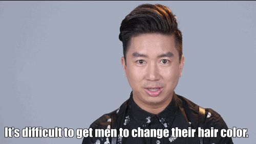 These Men Dyed Their Hair For The First Time And Fucking Loved It