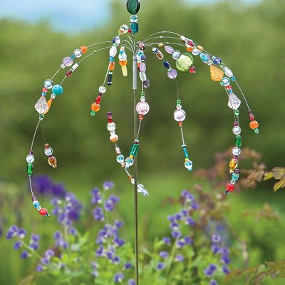 Dancing Garden Jewels Stake...Get some beads and some wire and get creative!!! :)
