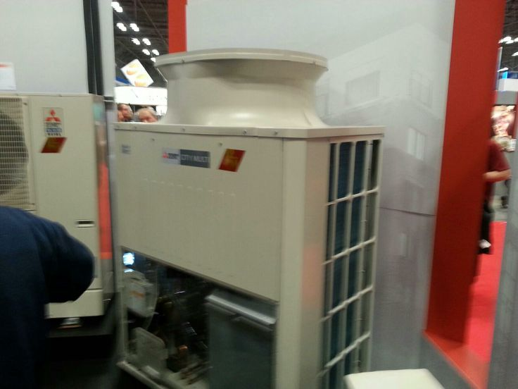 Mitsubishi's new H2i RS-Series variable refrigerant flow heat pump
