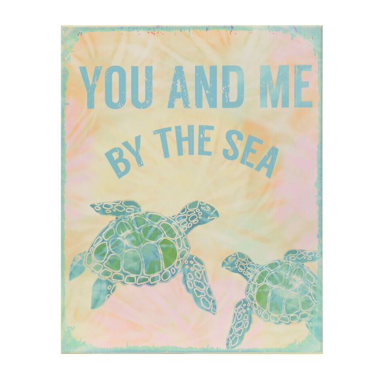 Turtles And Tails Master Bedroom Before And After: Sea Turtle You And Me Wooden Plaque