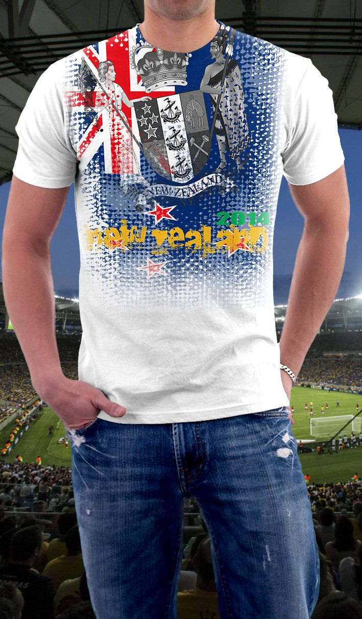 Design t shirt new zealand - Find This Pin And More On 2014 Soccer T Shirts New Zealand Soccer Shirt
