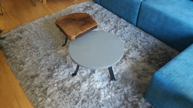 #coffeetable solid wood cement