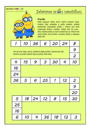 Придумать/подобрать пример на умножение, ответом для которого будет данное число