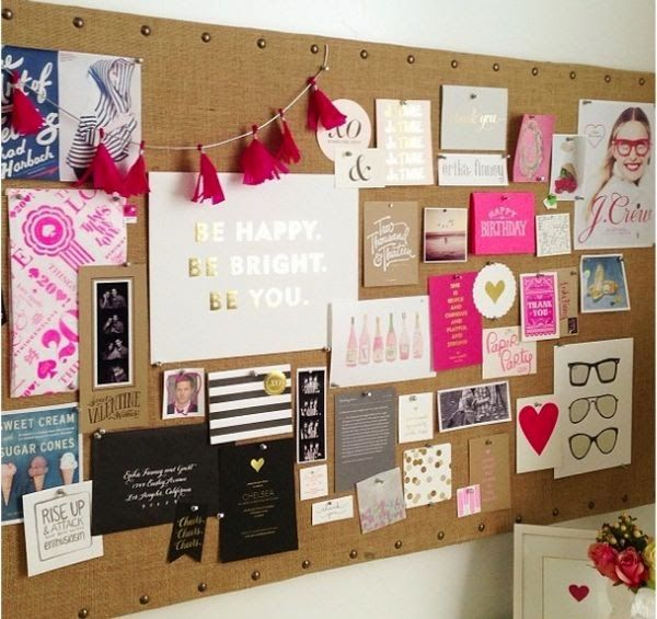 Lumpy Way: Inspiration board или доска визуализации