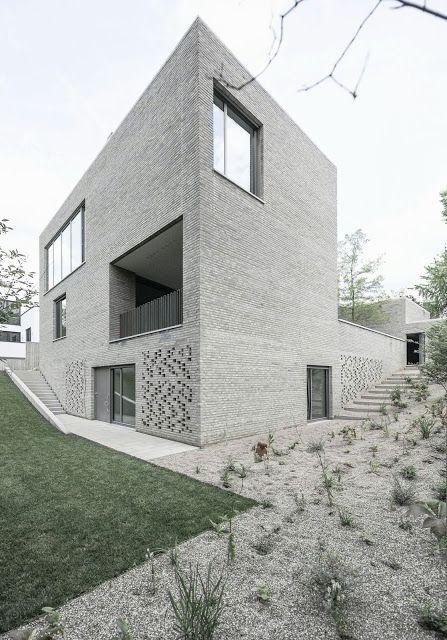 Haus Z by Bayer & Strobel Architekten (Frankfurt, Germany) #architecture