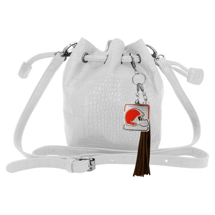 NFL Cleveland Browns Charming Mini Bucket Bag, Women's