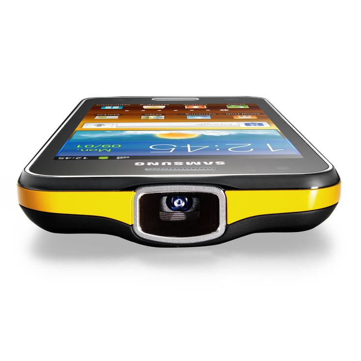 Samsung Galaxy Beam. I wonder if the new iPhone5 will include a pico projector?