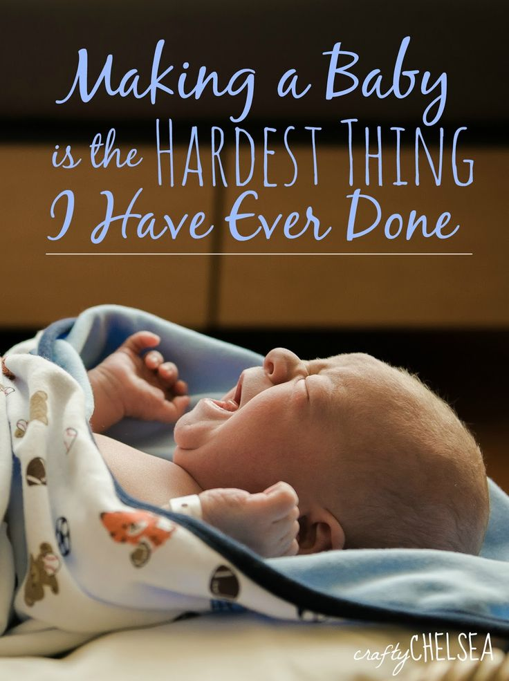 Making a Baby is the Hardest Thing I Have Ever Done: our struggle with infertility and why you should never give up hope