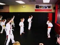 karate for the boys