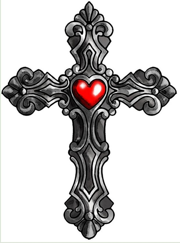картинка в виде креста передает объемность