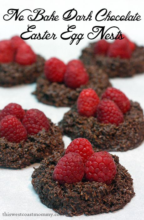 These No Bake Dark Chocolate and Coconut Easter Egg Nests are dairy-free, low-sugar, and paleo-friendly!