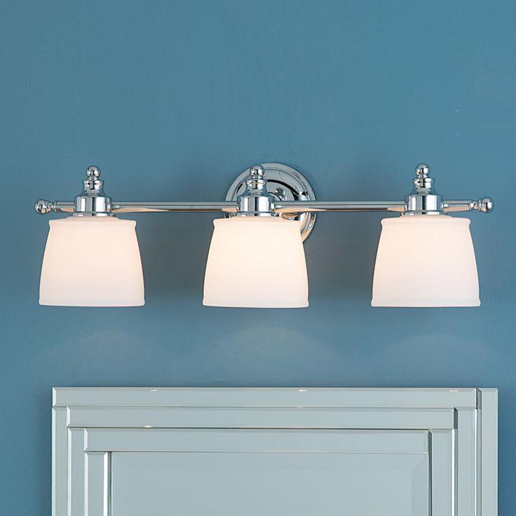 19 best Bathroom Lighting images on Pinterest   Bathroom lighting ...