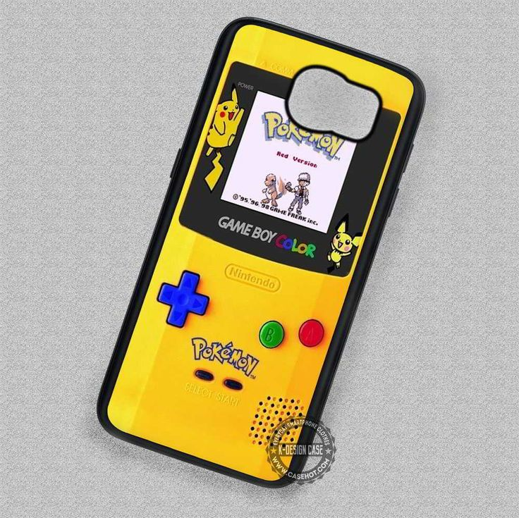Gameboy Color Pokemon Edition Nintendo - Samsung Galaxy S7 S6 S5 Note 4 Cases & Covers