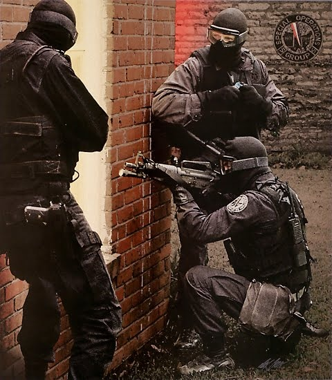"""""""Shadow Stalkers"""" US Marshals Special Operations Group."""