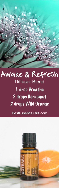 Awake & Refresh doTERRA Diffuser Blend