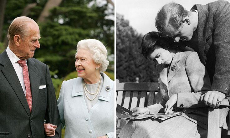 The Queen and Prince Philip's love story in pictures