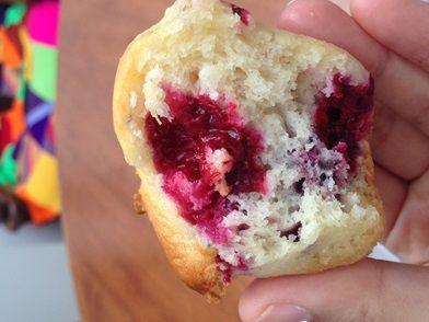 Imagem da receita Muffin de amora