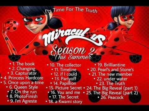 Miraculous season 2 episodes