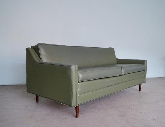 We Have This Super Cool Original Vintage Mid Century Modern Sofa