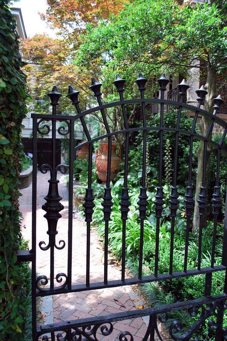 1000+ Images About WROUGHT IRON GATES On Pinterest
