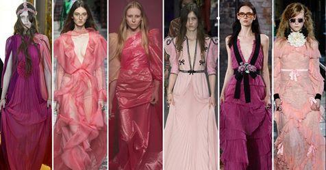 Gli abiti rosa sono come un talismano per Alessandro Michele di Gucci. Scoprili tutti in questa gallery: