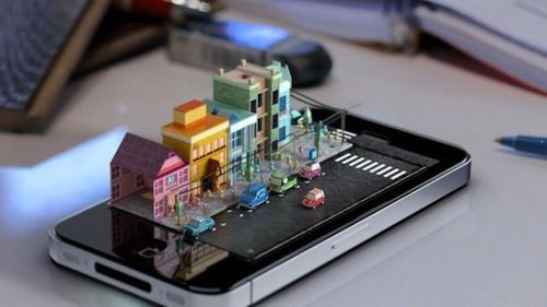 Animation Artist Makes Buildings Sprout Out From iPhones. The video is awesome.3D Artists, Animation, Graduation Projects, Animal Videos, 3D Animal, Iphone Dioramas, Minis, Design, Mike Ko