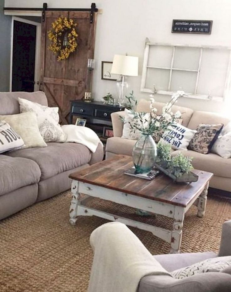 44 Amazing Rustic Farmhouse Style Living Room Design Ideas 10 Rusticfarmhous Farmhouse Decor Living Room Living Room Modern Modern Farmhouse Living Room Decor