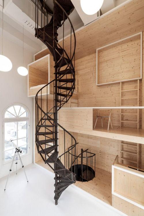 By Larue Architects: Interior Architect, Staircase Design, Interior Architecture