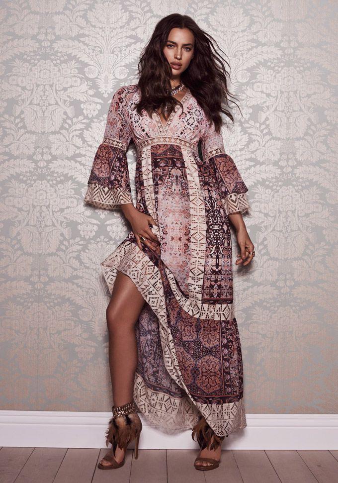 Irina Shayk & Gracie Carvalho - Channeling Bohemian Style For Bebe July 2015 » FREEYORK