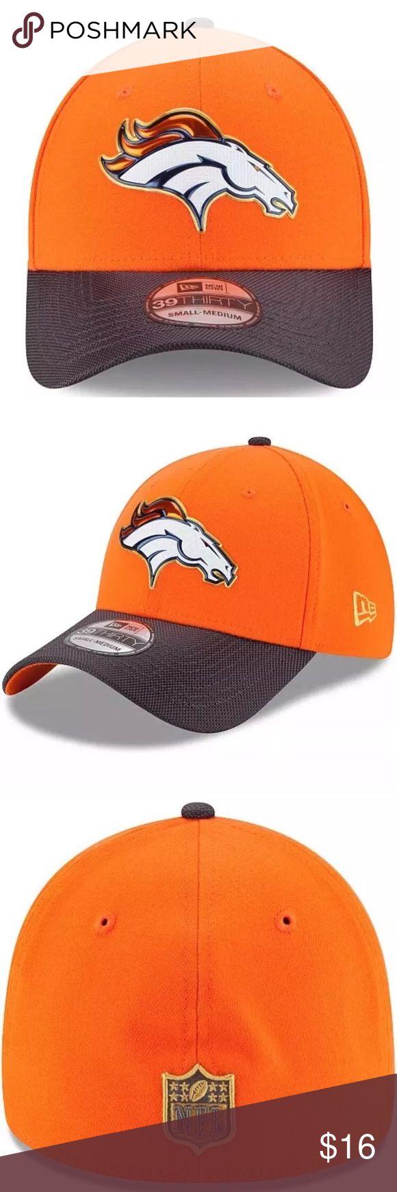 NewEra 39Thirty Gold Collection Denver Broncos Hat Denver Broncos New Era NFL Gold Collection On Field 39Thirty Flex Hat L/XL  Brand : New Era  Style : 39Thirty   Size : L/XL  Team : Denver Broncos  Brand new with tags New Era Accessories Hats