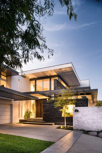 Modern home with fantastic intersecting planes