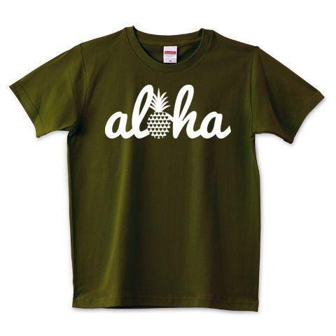 aloha (heart)028   デザインTシャツ通販 T-SHIRTS TRINITY(Tシャツトリニティ)