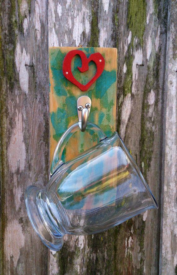 Single Mug holder by theLambandtheBear on Etsy