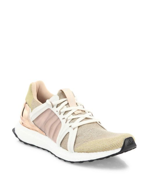 adidas by Stella McCartney Ultra Boost Running Sneakers - Coppermet